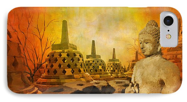 Sborobudur Temple Compounds IPhone Case by Catf