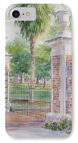 South Carolina. Horseshoe Sold IPhone Case by Gloria Turner