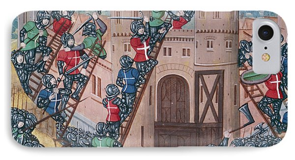 Scaling Of Pontaudemer IPhone Case by British Library