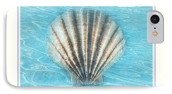 Scallop Underwater IPhone Case by Linda Olsen