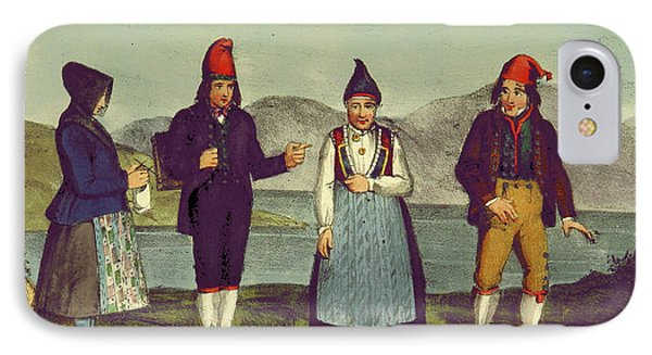 Scandinavian Sketches, Or, A Tour In Norway, Bergen Stift IPhone Case