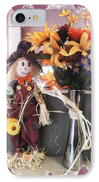 Scarecrow And Company Phone Case by Patricia Keller