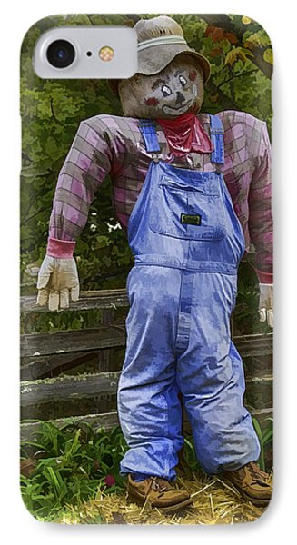 Scarecrow Phone Case by John Haldane