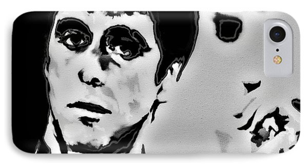 Scarface 4x IPhone Case by Brian Reaves