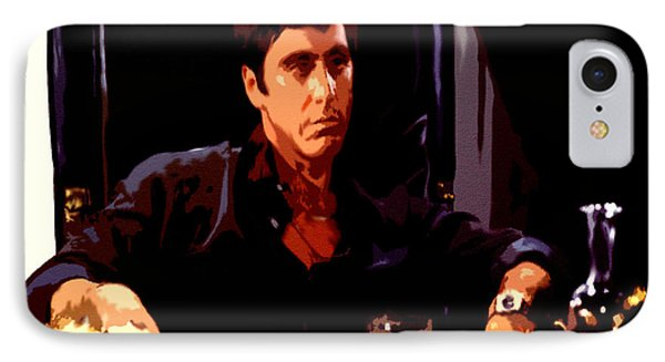 Scarface II IPhone Case by Brian Reaves