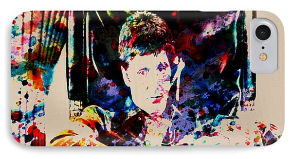 Scarface Paint Drops IPhone Case by Brian Reaves