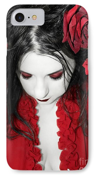 IPhone Case featuring the photograph Scarlet by Heather King