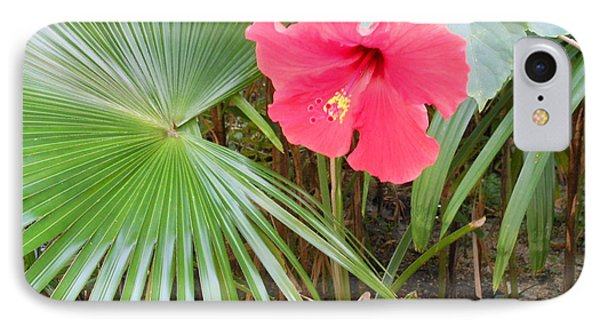 Scarlet Hibiscus Phone Case by Kay Gilley