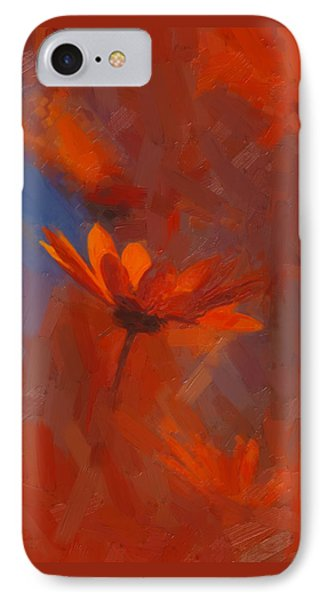 Scarlet Petals  IPhone Case by Paul Davenport