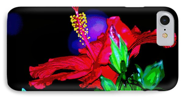IPhone Case featuring the photograph Scarlett by Linda Cox