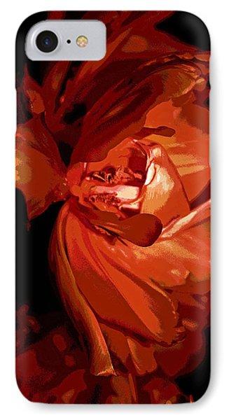 Scarlett Petals IPhone Case