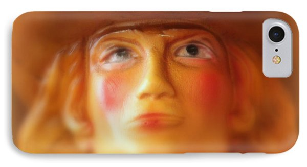 Scary Cowgirl IPhone Case by Lynn Sprowl