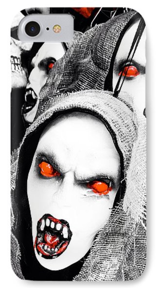Scary Red IPhone Case