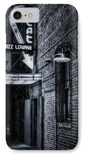 Scat Lounge In Cool Black And White IPhone Case