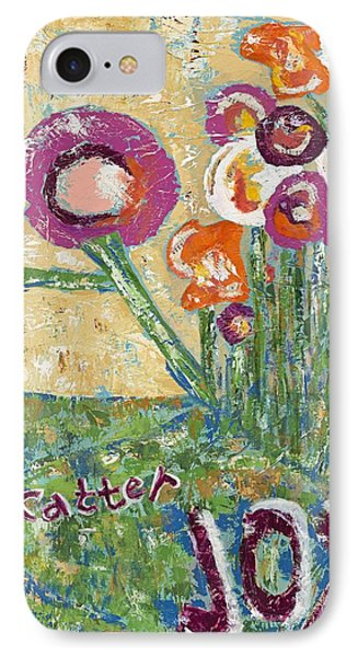 Scatter Joy IPhone Case by Kirsten Reed