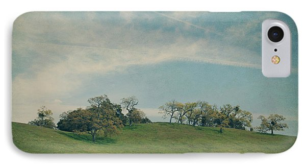 Scattered Along The Hilltop IPhone Case by Laurie Search