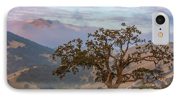Scattered Clouds At Sunrise IPhone Case by Marc Crumpler