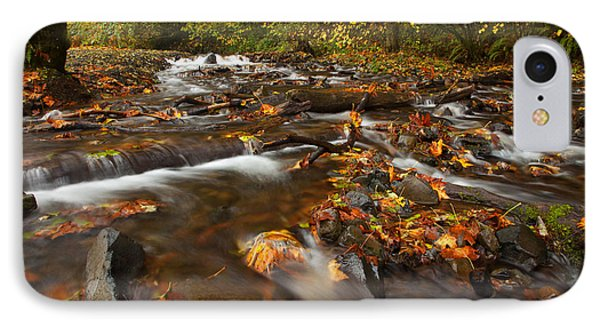 Scattered Leaves Phone Case by Mike  Dawson