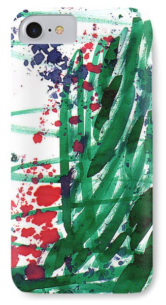Scattered Love 05 IPhone Case by Mirfarhad Moghimi