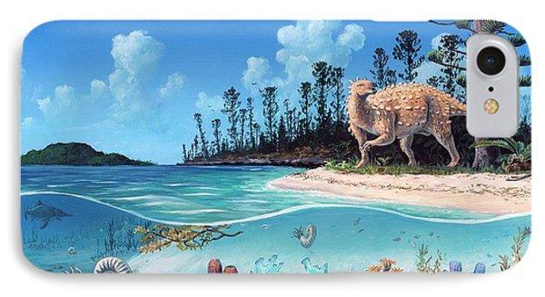 Scelidosaurus Dinosaur IPhone Case