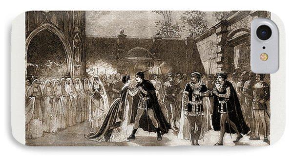 Scene From Il Trovatore At Covent Garden Theatre, London IPhone Case