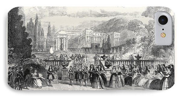 Scene From The New Opera Loves Triumph At Covent Garden 1862 IPhone Case