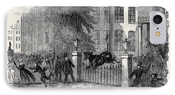 Scene In Privy Gardens, Whitehall IPhone Case