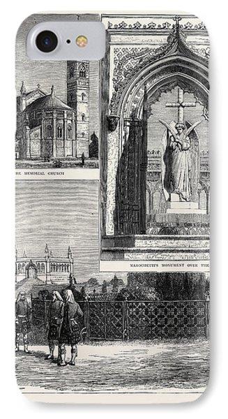 Scene Of The Cawnpore Massacre Of 1857, Memorial Building IPhone Case