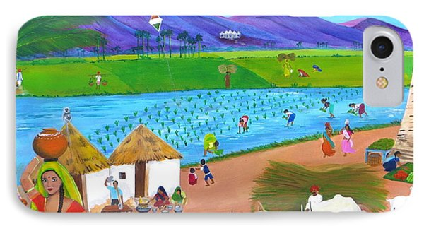 Scenes Of India IPhone Case