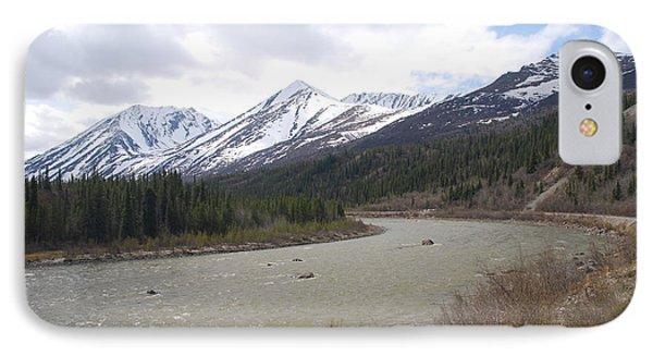 Scenic Alaskan River IPhone Case