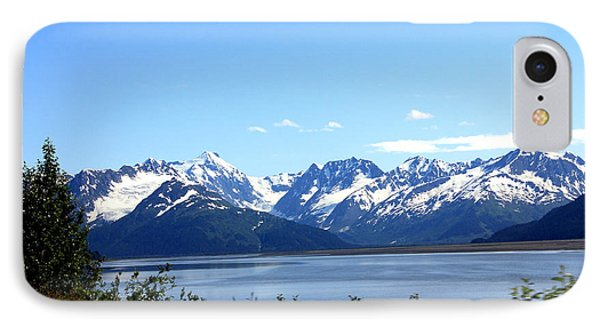 IPhone Case featuring the photograph Scenic Byway In Alaska by Kathy  White