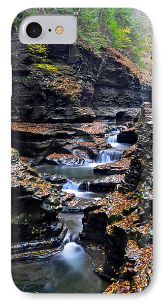 Scenic Cascade Phone Case by Frozen in Time Fine Art Photography