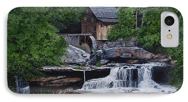 Scenic Grist Mill Phone Case by Vicky Path