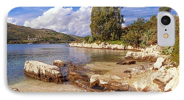Scenic Kassiopi On Corfu Horizontal IPhone Case