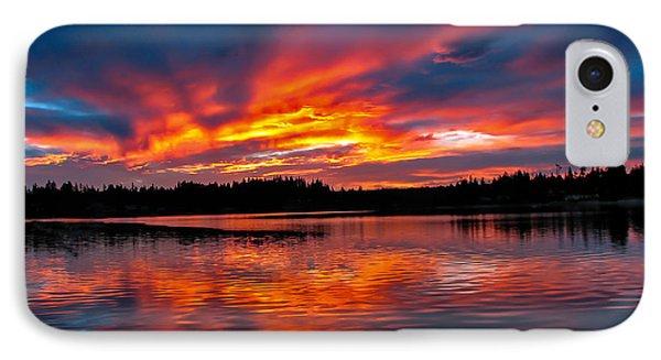 Scenic Marine Sunrise IPhone Case by Robert Bales