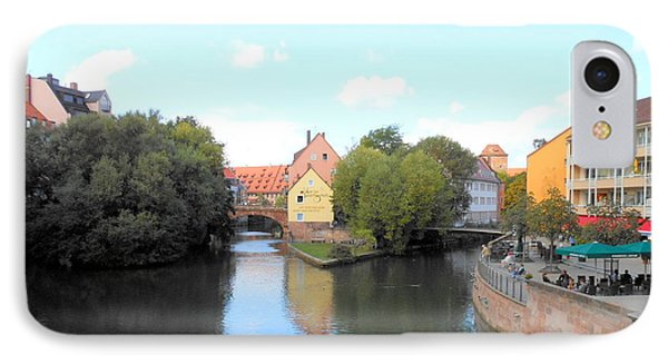 IPhone Case featuring the photograph Scenic Nuremberg by Kay Gilley