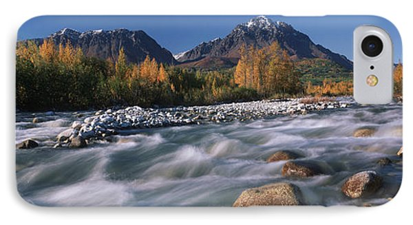 Scenic Of Granite Creek In Autumn Sc Phone Case by Calvin Hall