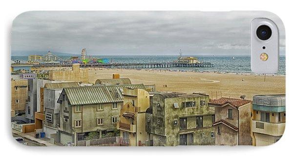 Scenic Santa Monica California IPhone Case by Mountain Dreams