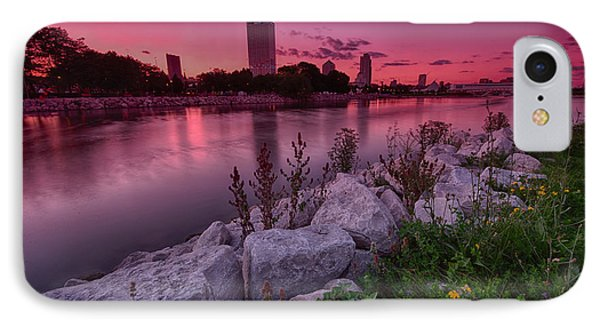 Scenic Sunset IPhone Case by Jonah  Anderson