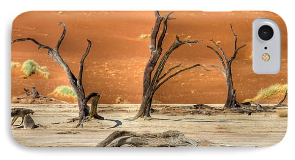 Scenic View At Sossusvlei IPhone Case by Juergen Klust