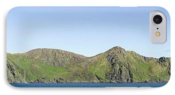 Scenic View Of Barren Islands IPhone Case