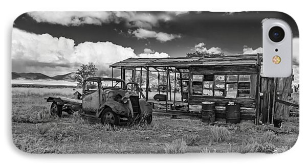 Schellbourne Station And Old Truck Phone Case by Robert Bales
