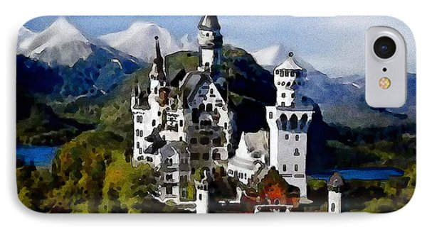 Schengen Castle IPhone Case by Jann Paxton