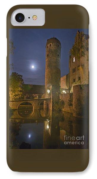 Schloss Sommersdorf By Moonlight IPhone Case