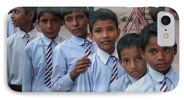School Boys IPhone Case