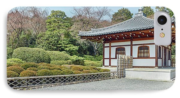 School Building In Ryoan-ji Temple IPhone Case by Panoramic Images