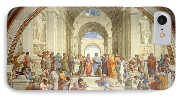 School Of Athens Phone Case by Raphael