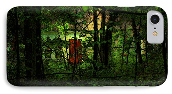Schoolhouse At The Clearing - Ellison Bay - Door County - Wisconsin IPhone Case by David Blank