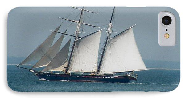 Schooner At Sail IPhone Case
