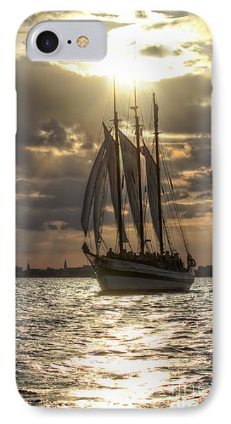 Schooner Pride Charleston Sc IPhone Case by Dustin K Ryan